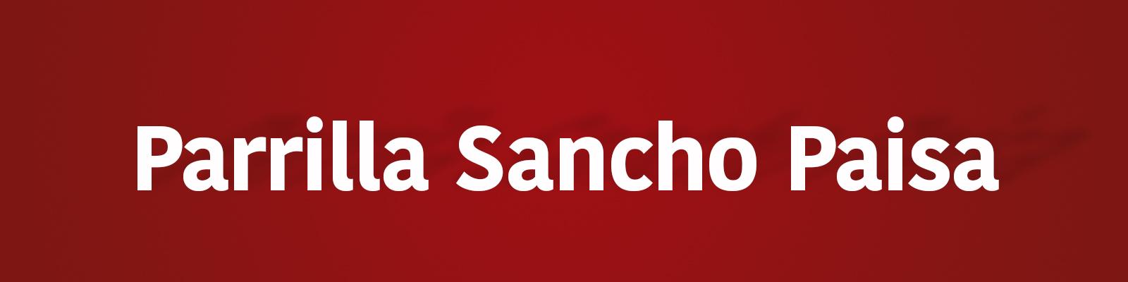 Parrilla Sancho Paisa